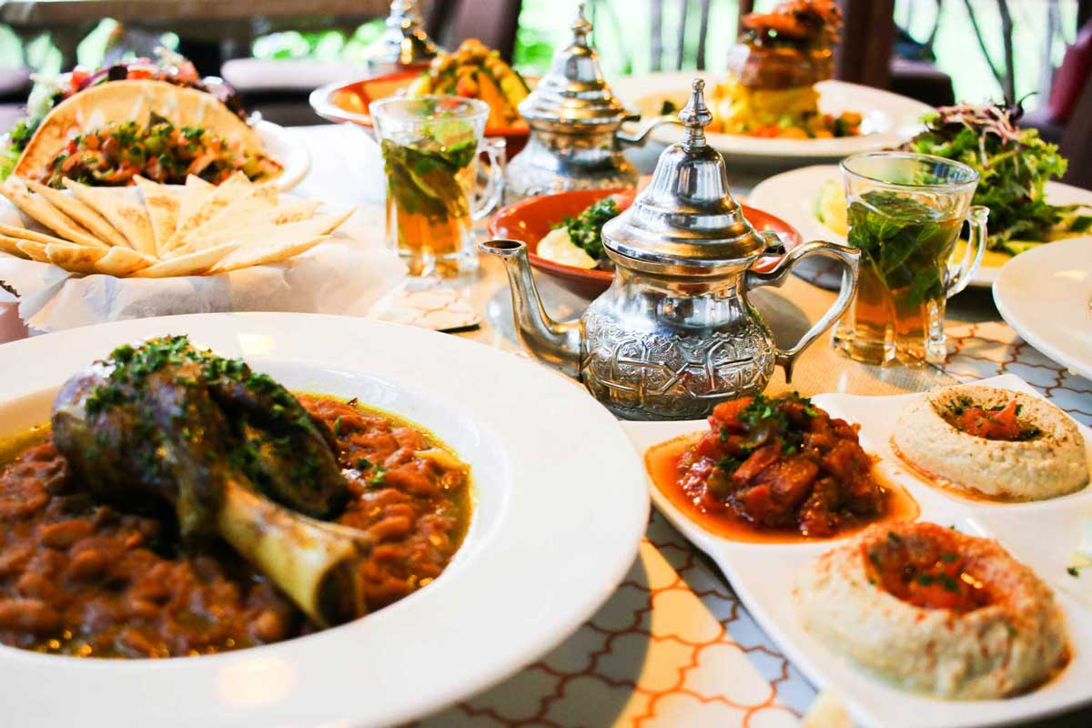 Kan zaman authentic moroccan lebanese cuisine for Authentic lebanese cuisine